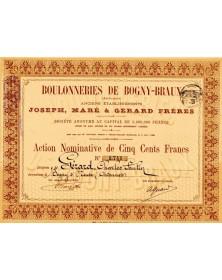 Boulonneries de Bogny-Braux (Anciens Ets Jospeh, Maré & Gérard Frères)