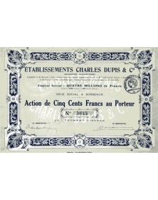 Ets Charles Dupis & Cie (Vins)