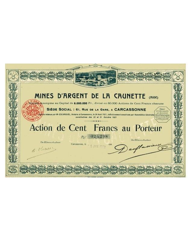 Mines d'argent de la Caunette (silver mines), Aude