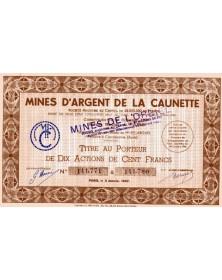 Mines d'Argent de La Caunette (Aude)