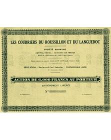Les Courriers du Roussillon et du Languedoc