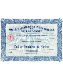 Sté Minière et Industrielle de Villardonnel