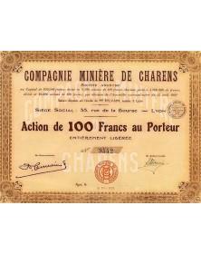 Cie Minière de Charens