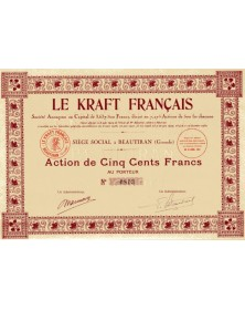 Le Kraft Français