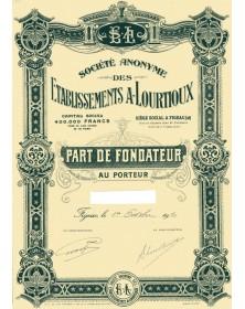 S.A. des Ets A. Lourtioux