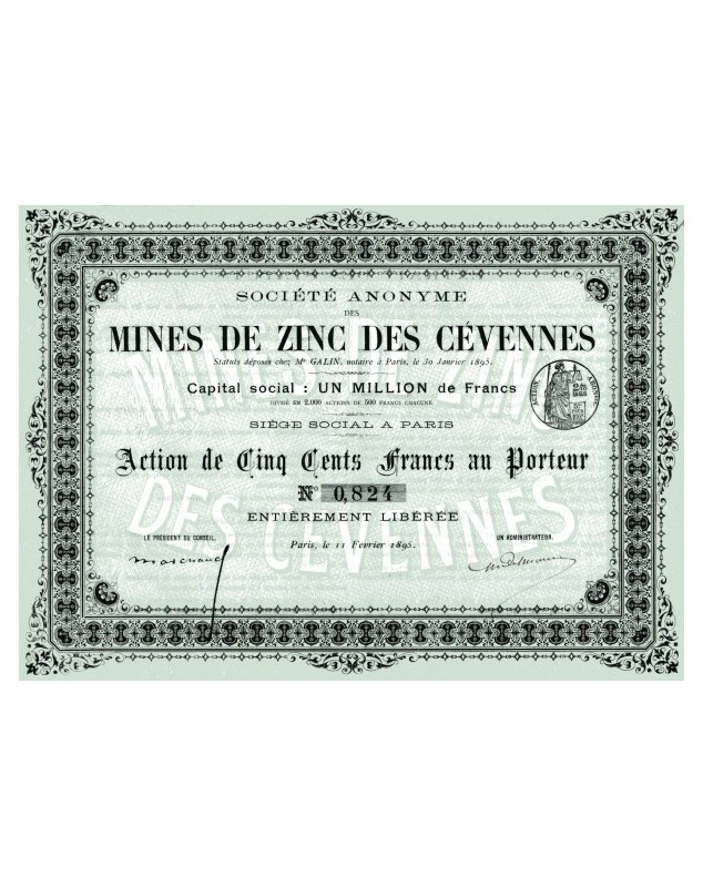 S.A. des Mines de Zinc des Cévennes