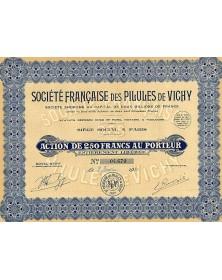 Sté Française des Pilules de Vichy