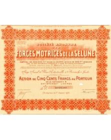 S.A. des Forces Motrices de la Sélune