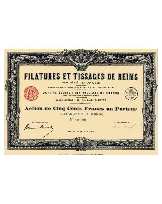Filatures et Tissages de Reims