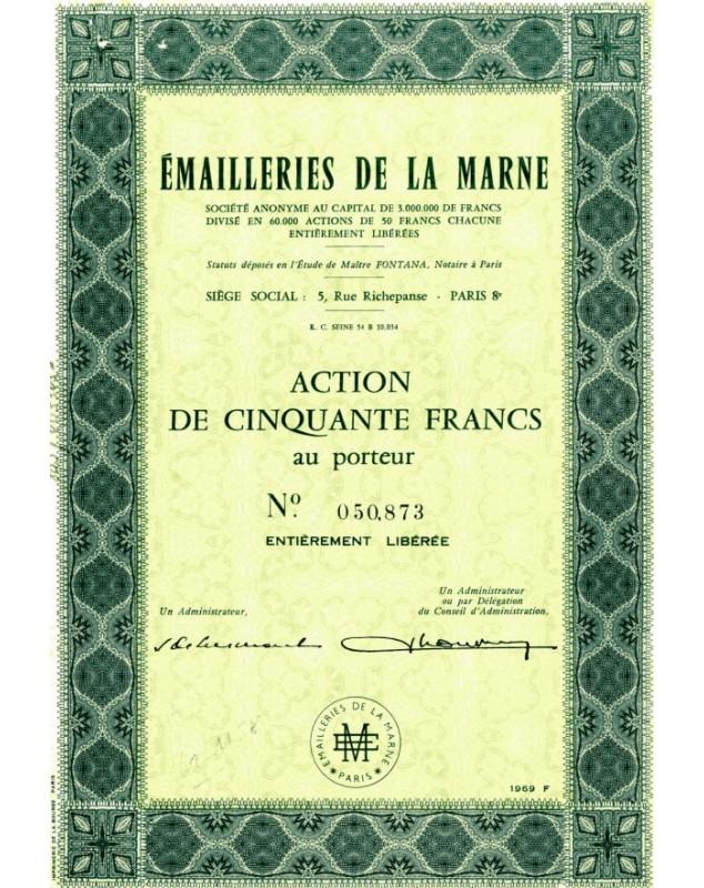 Emailleries de la Marne