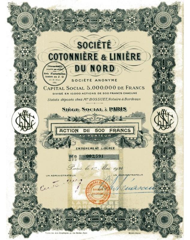 Sté Cotonnière & Linière du Nord
