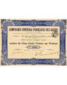 Cie Générale Française des Aciers