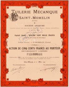 Tuilerie Mécanique de Saint-Momelin