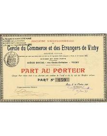 Sté d'Exploitation du Cercle du Commerce et des Etrangers de Vichy