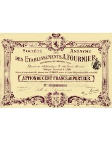 SA des Ets A. Fournier