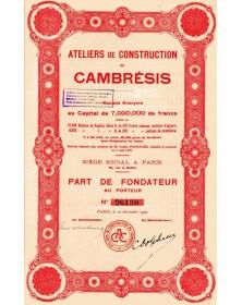 Ateliers de Constructions du Cambrésis