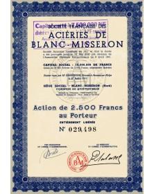 Sté Française des Aciéries de Blanc-Misseron