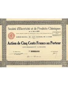 Sté d'Electricité et de Produits Chimiques de l'Allier
