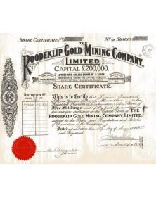 Roodeklip Gold Mining Co.