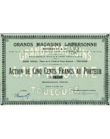Grands Magasins Lapersonne Bourgeat & Cie