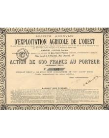 S.A. d'Exploitation Agricole de l'Ouest