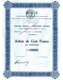 S.I.C. S.A. (Sté Industrielle et Commerciale)