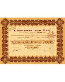 Ets Lucien Binet (Automobile)