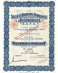 S.A. Française d'Automobiles (S.A.F.A.)