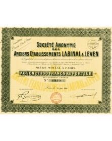 S.A. des Anciens Ets Labinal & Leven