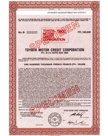 Toyota Motor Credit Corporation