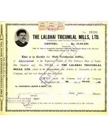 The Lalbhai Tricumlal Mills Ltd