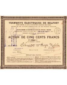 Tramways Electriques de Belfort