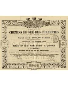 Cie des Chemins de Fer des Charentes