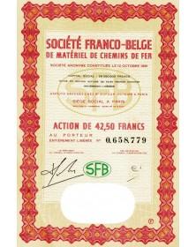 Sté Franco-Belge de Matériel de Chemins de Fer