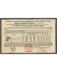 Emprunt 4% 1905 Tedjhizat-Askerie