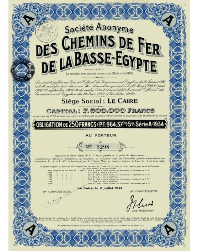 Chemins de Fer de la Basse-Egypte