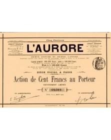S.A. du Journal L'Aurore