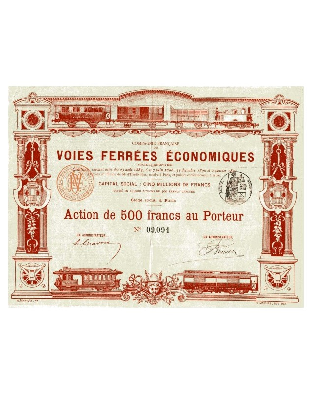 Cie Française des Voies Ferrées Economiques