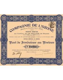 Cie de l'Ozone (Brevets et Procédés M.-P. Otto)