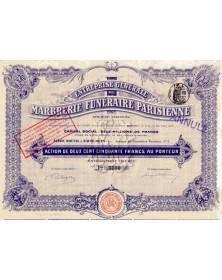 Ets Générale de Marbrerie Funéraire Parisienne