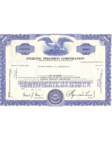 Sterling Precision Corp.