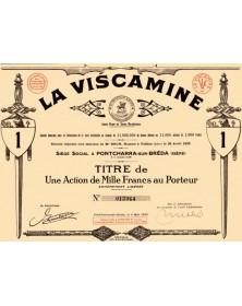 """La Viscamine, Au Chevalier Bayard, Marque déposée """"Sans Peur et sans Reproche"""""""