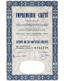 S.A. Imprimerie Crété