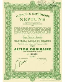 Agence & Imprimerie NEPTUNE