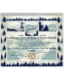 Les Villages Climatériques de Haute Altitude - Plaine-Joux, Mont-Blanc, Passy