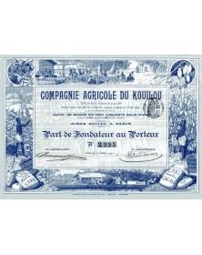 Cie Agricole du Kouilou (Congo Français)