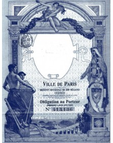 City of Paris - 235 Million Francs Municipal Loan 1910