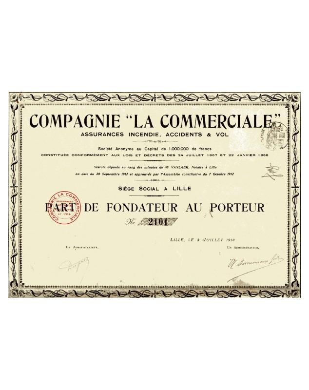 """Cie -La Commerciale-"""""""""""