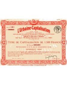 L'Urbaine Capitalisation
