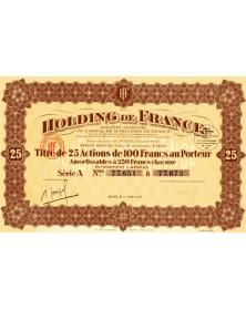 Finances Holding de France